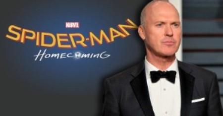 Michael Keaton Jadi Musuh Baru Spider-Man