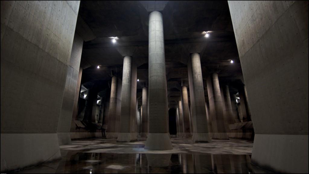 Kuil Bawah Tanah, Rahasia Jepang Mencegah Banjir