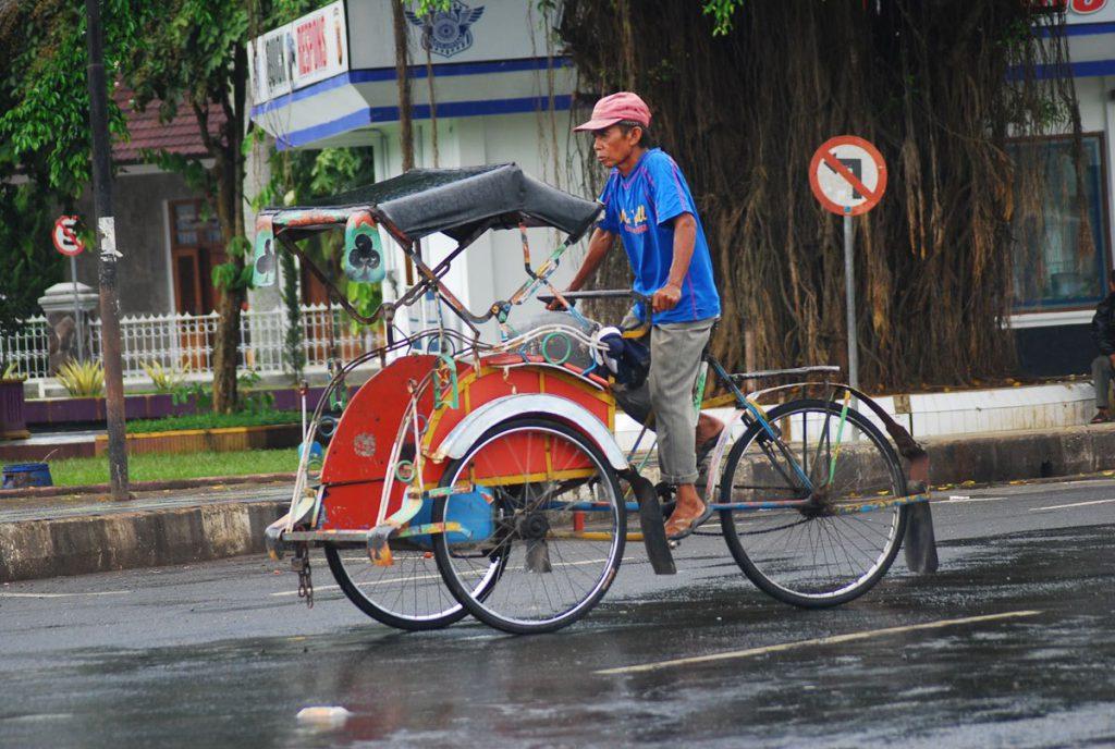 Macam – Macam Becak di Indonesia dan Dunia