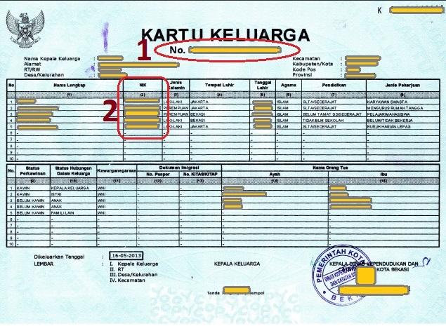 Marwan, Karangturi : Syarat mengurus KK yang hilang?