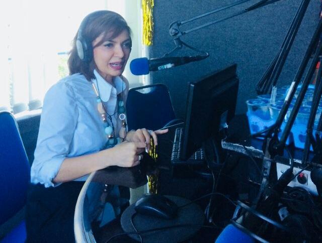 Kunjungan Najwa Shihab di Studio Solopos FM