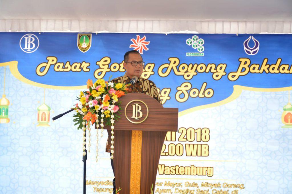 Sinergi Bersama, Sukseskan Pasar Gotong Royong Bakdan Neng Solo