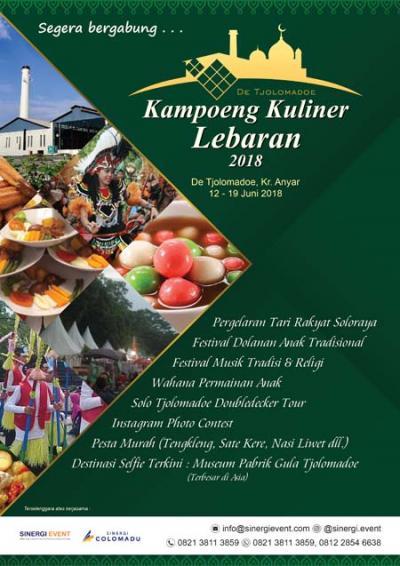 Kampoeng Kuliner Lebaran 2018 (12 – 19 Juni 2018)