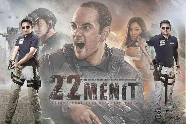 Film 22 Menit, Kisah Nyata Aksi Teror Jalan Thamrin