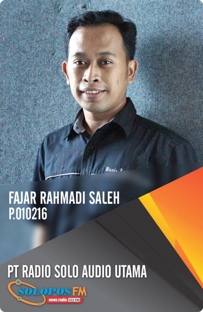 Fajar Rahmadi