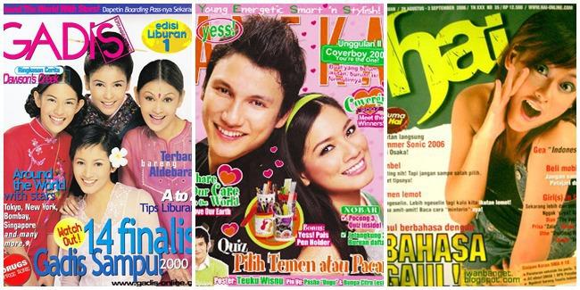 Majalah Remaja Hits Era 90-an