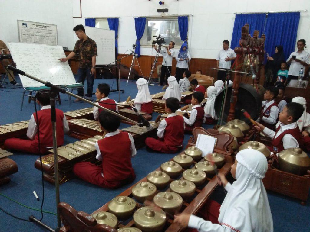 Karawitan SD Muh 1 siap Kiprah di Pembukaan Lomba Budaya Mutu