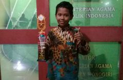 Siswa SD Muh 1 Solo Raih Juara Lomba Cerilis Tingkat Provinsi