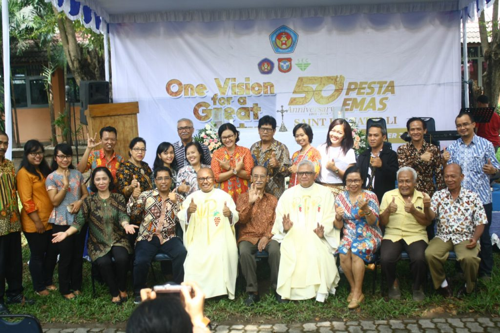 Pesta Emas 50th Kampus St Pigantelli Meriah