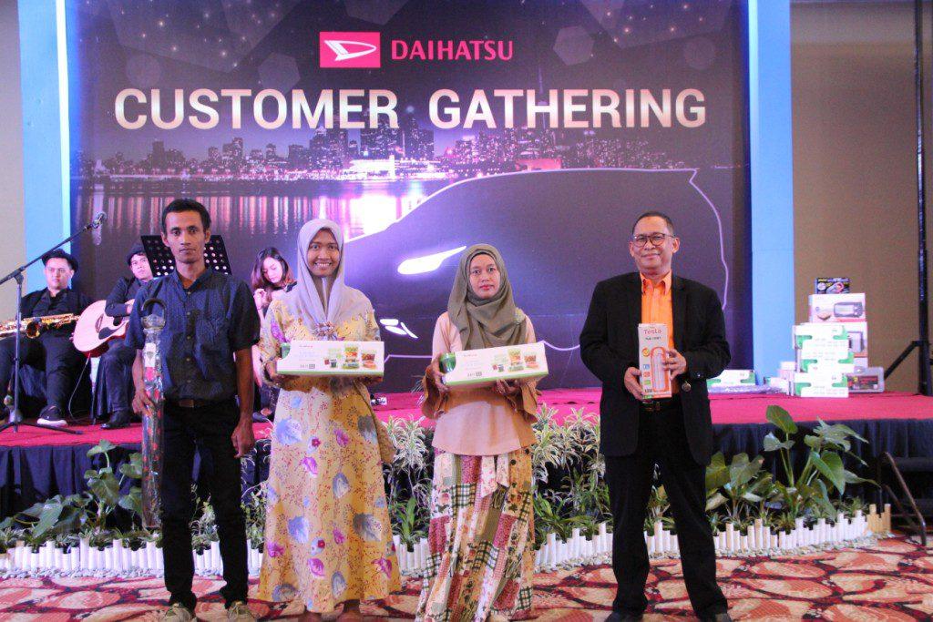 Astra Daihatsu Solo Baru sukses menggelar program Customer Gathering yang dilaksanakan pada hari Kamis, tanggal 13 Desember 2018 bertempat di Solo Paragon Hotel, Emerald UG Floor.