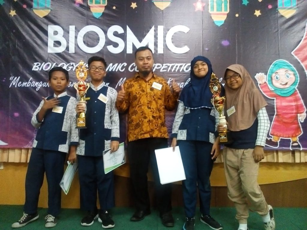 SD Muh 1 Raih Dua Gelar Juara Biology's Of Islamic Competition se-Soloraya