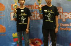 Dua Siswa Kelas 8 SMP Muhammadiyah Program Khusus Kottabarat Solo Kembali Juarai Lomba Robotik