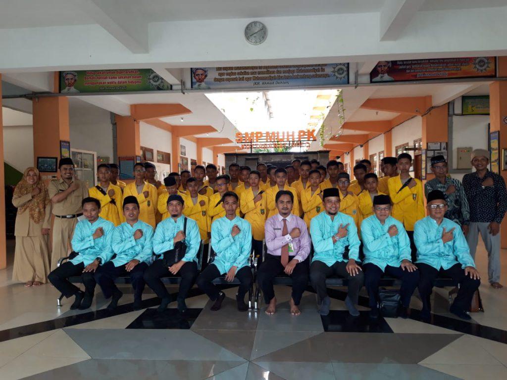 Sekolah Asal Lampung Studi Banding di SMP Muhammadiyah PK Solo