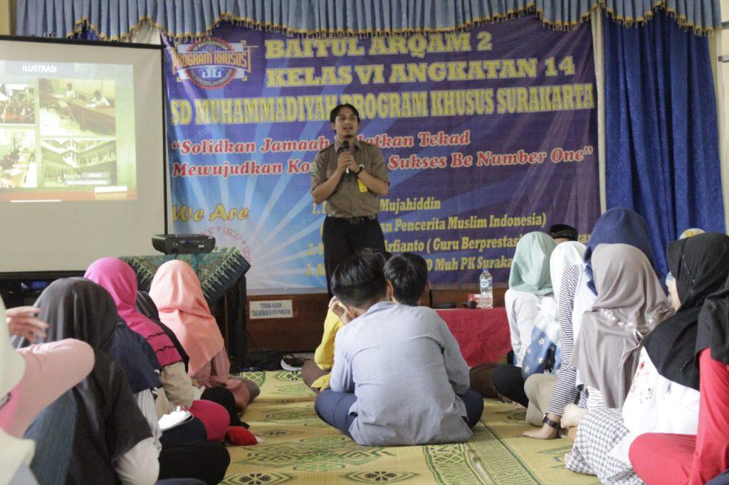 Baitul Arqam SD Muhammadiyah PK Kottabarat Solo, Teguhkan Komitmen Berprestasi