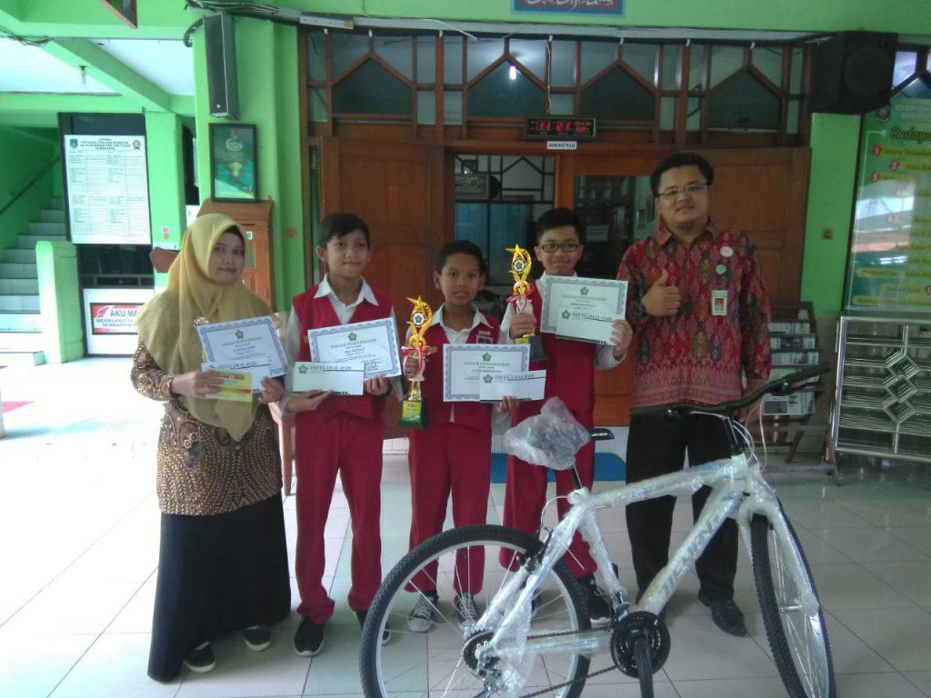 23 Siswa SD Muh 1 Solo Raih Juara Tryout Ujian Akbar 2019