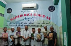 Majelis Asyrofa Solo Komit Galakkan Gerakan Tuntas Baca Tulis Al-Qur'an