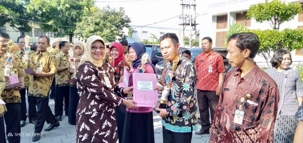 Deny Ariyanto, Guru SD Muhammadiyah 2 Kauman, Raih Penghargaan Olympiade Guru Nasional 2019