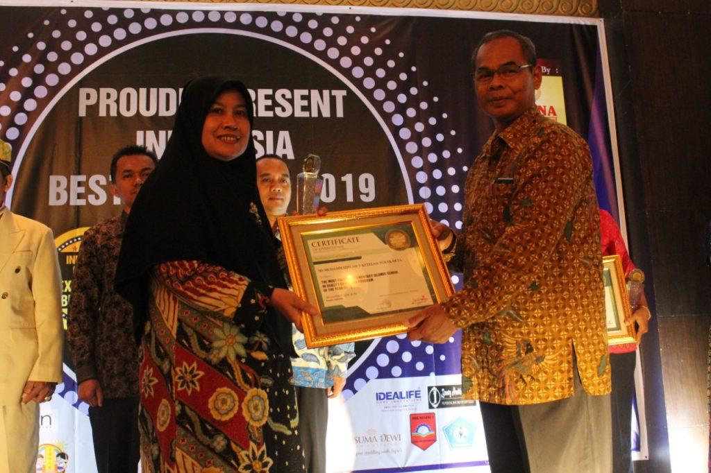 SD Muhammadiyah 1 Solo SD Muhammadiyah 1 Ketelan Terima Penghargaan Sekolah Islam Abad 21