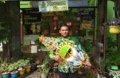 Kreasi Ki Agung Sudarwanto, Ciptakan Wayang Peduli Lingkungan