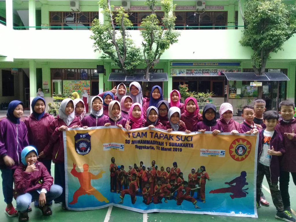 24 Pesilat SD Muhammadiyah 1 Solo Borong Medali Kejuaraan Nasional