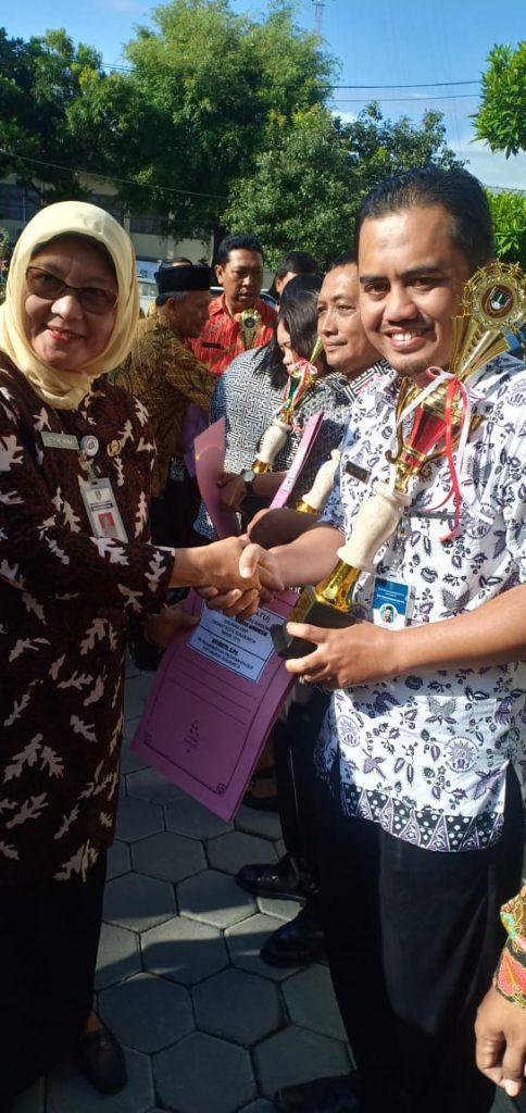Aryanto, Guru SMP Muhammadiyah Program Khusus Kottabarat Solo Juarai OGN Kota Solo