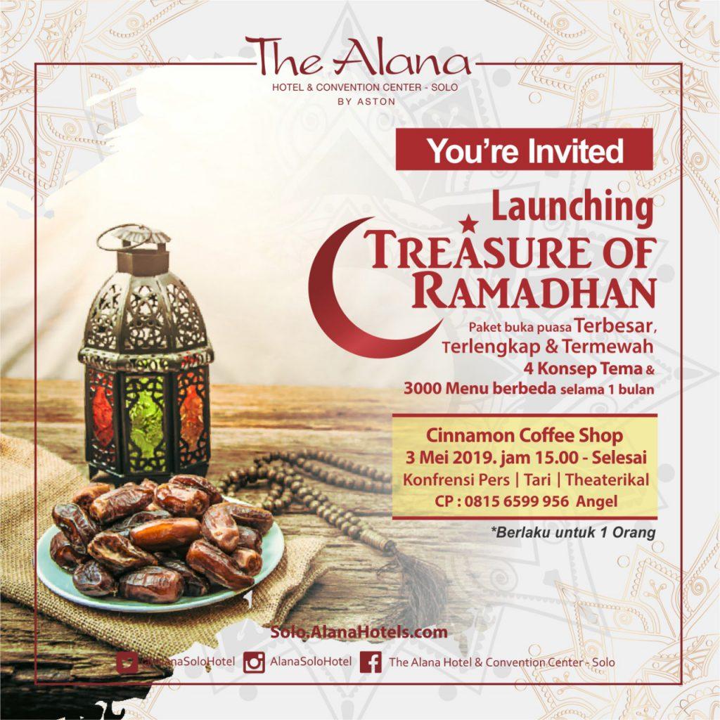 The Alana Launching Treasure of Ramadhan