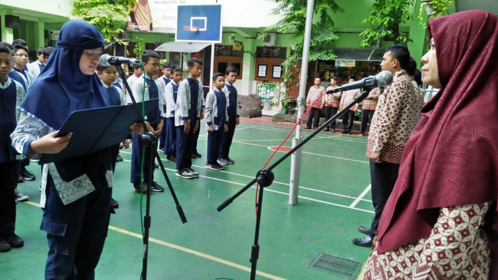 Hadapi UN, Siswa SD Muhammadiyah 1 Ketelan Solo Dirikan Qiyamul Lail dan Apel Bersama