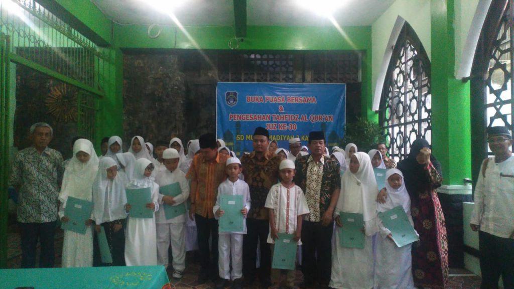 SD Muhammadiyah 2 Kauman Gelar Pengesahan Tahfidz Al Quran Juz 30
