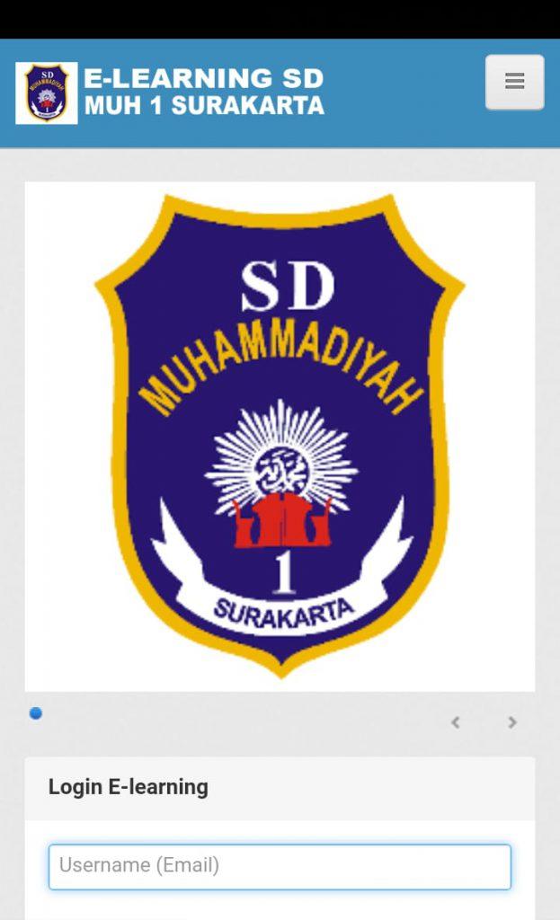 Perkuat Pembelajaran, SD Muhammadiyah 1 Ketelan Solo Kembangkan E-learning