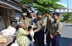 Ratusan Siswa SMP Muhammadiyah PK Solo Semangat Berbagi di Bulan Ramadhan