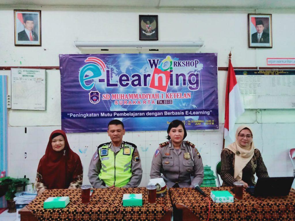"""SD Muhammadiyah 1 Solo Gelar Workshop """"Peningkatan Mutu Pembelajaran dan E-Learning era 4.0"""""""