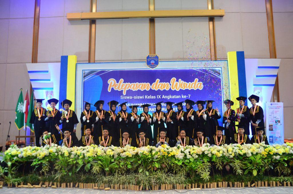 SMP Muhammadiyah PK Kottabarat Nomor Satu di Kota Solo