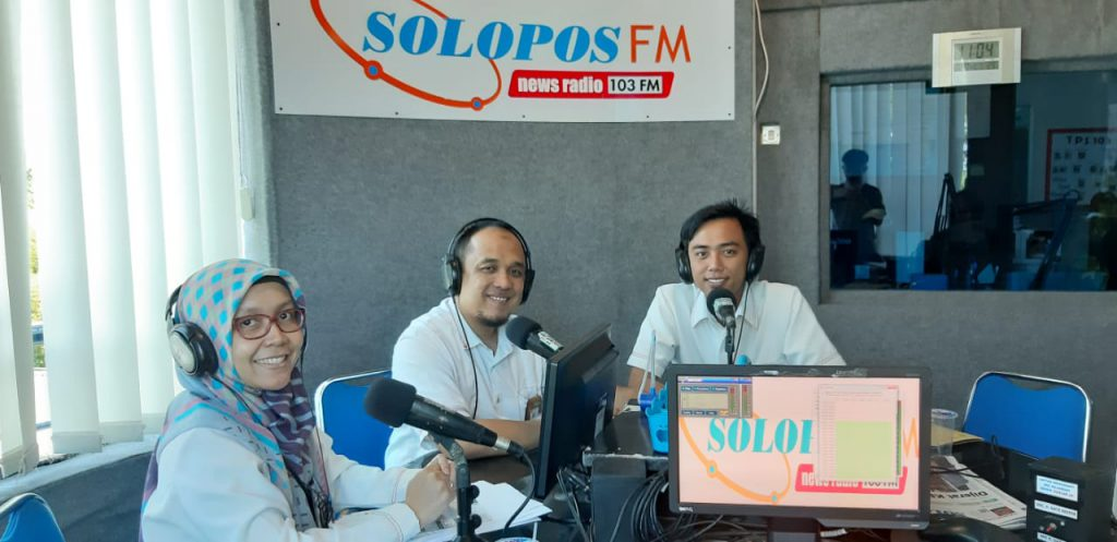 Talkshow bersama PT. PLN Persero – UPJ Surakarta