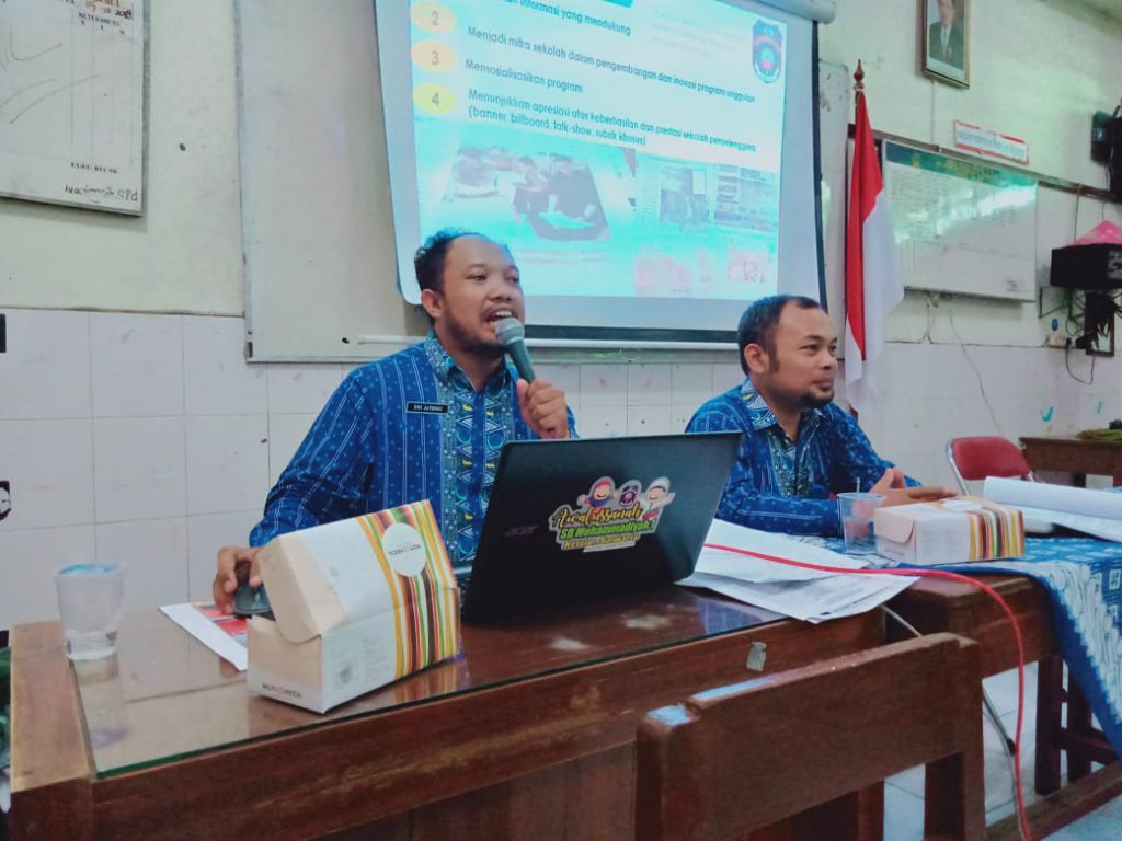 Pertajam Visi Misi. SD Muhammadiyah 1 Solo Siap Sambut Tahun Ajaran Baru