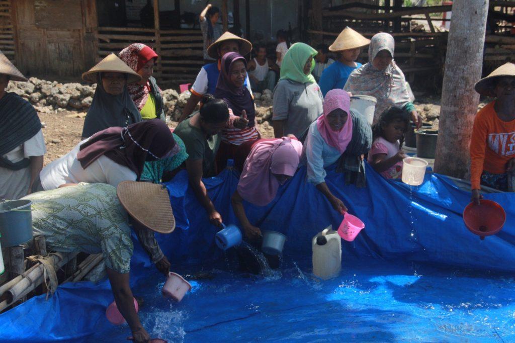BPJS Kesehatan Surakarta Salurkan Air Bersih Untuk Warga Wonogiri