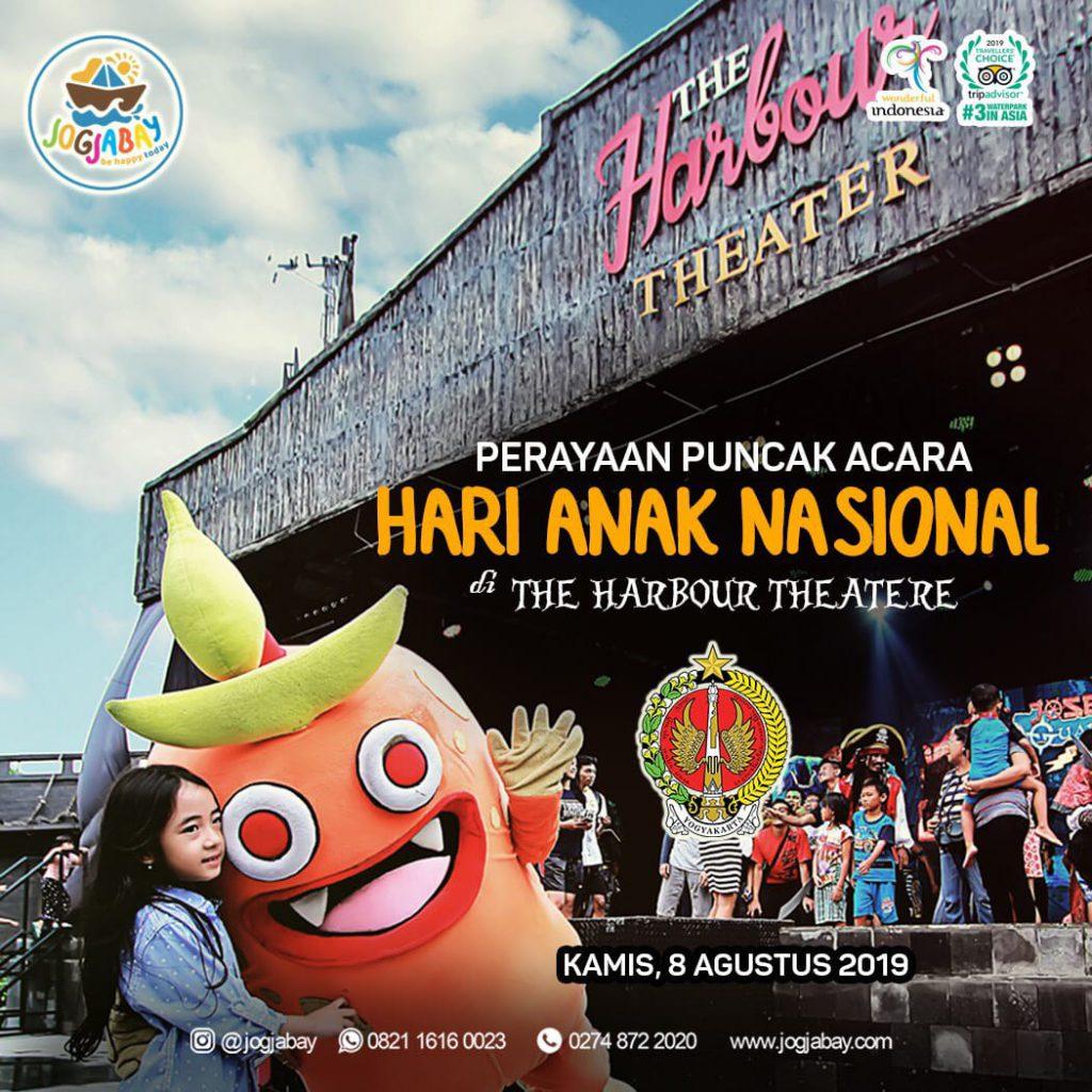 Puncak Peringatan Hari Anak Nasional DIY Di Jogja Bay Waterpark
