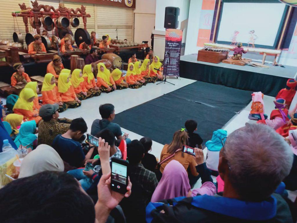 pre event Solo Gamelan Festival (SGF) di Foodcourt Solo Grand Mall, Kamis Malam (15/8/2019)
