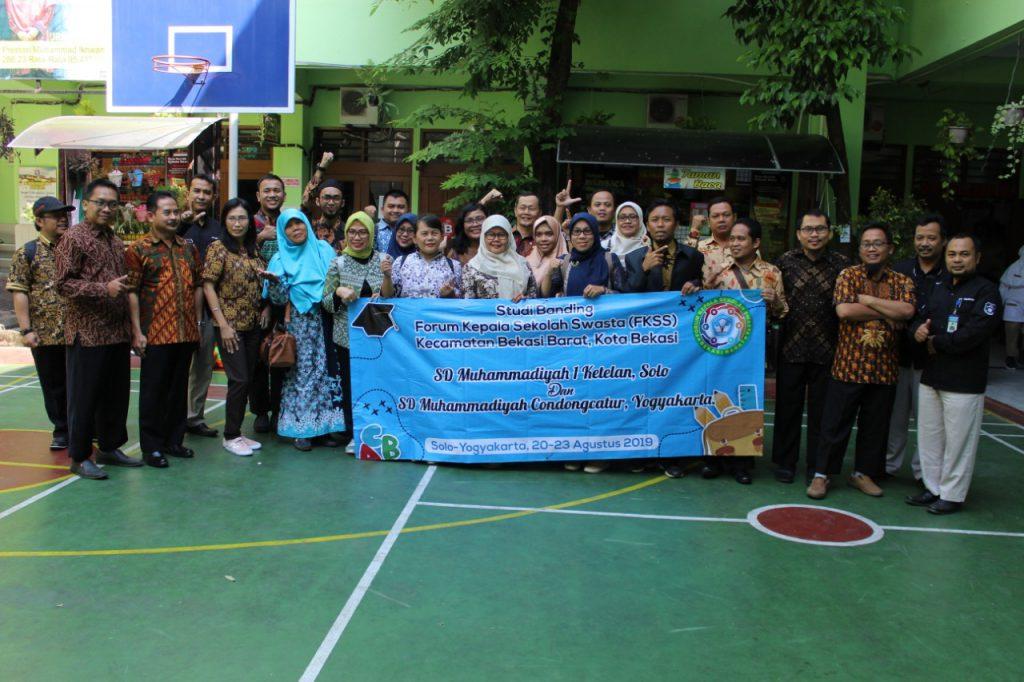 Inovasi E- Money SD Muhammadiyah 1 Solo, Pikat Forum Kepala Sekolah Bekasi