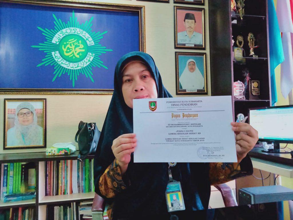 SD Muhammadiyah 1 Ketelan, Sekolah Sehat Terbaik se-Solo
