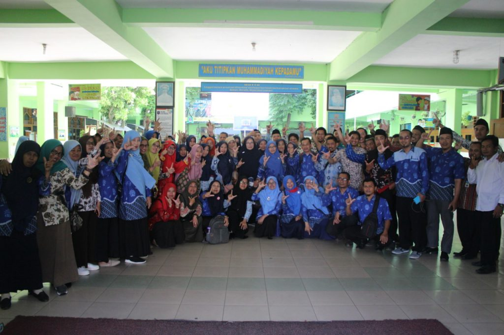 Puluhan Forum Guru Banjarnegara Kunjungi SD Muhammadiyah 1 Solo