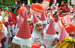 Sambut HUT Ke-74 RI, SD Muhammadiyah 1 Solo Selenggarakan Berbagai Lomba