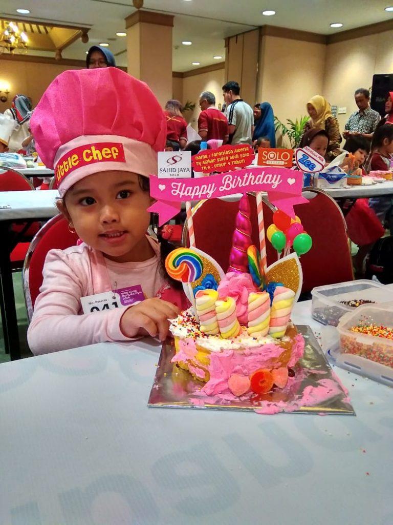 Serunya Kids Cake Decoration Bersama Hotel Sahid Jaya Solo