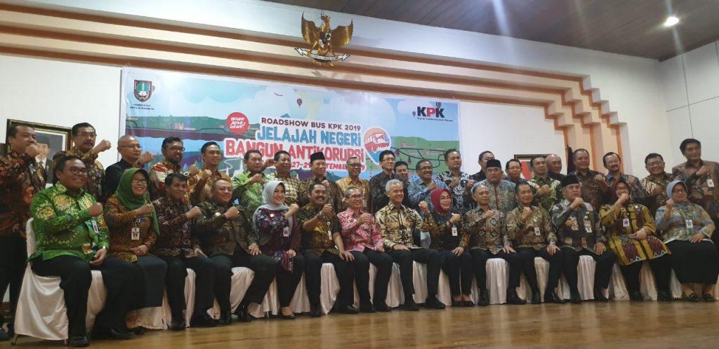 Implementasi Pendidikan Antikorupsi, 35 Kepala Daerah di Jateng Teken Perbup dan Perwali