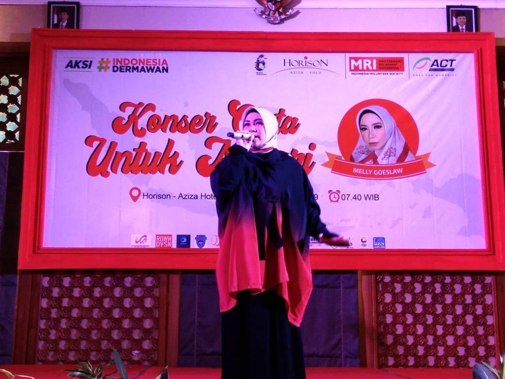 ACT Solo Bersama Hotel Horison Aziza Solo Gelar Konser Cinta Untuk Negeri