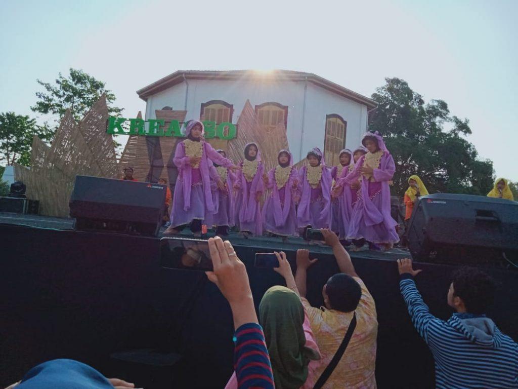 Tari Amurbaning Retno SD Muhammadiyah 1 Ketelan Pukau Warga Solo
