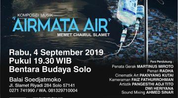 """""""AIRMATA AIR"""" Komposisi Musik Air dan Sinematografi"""