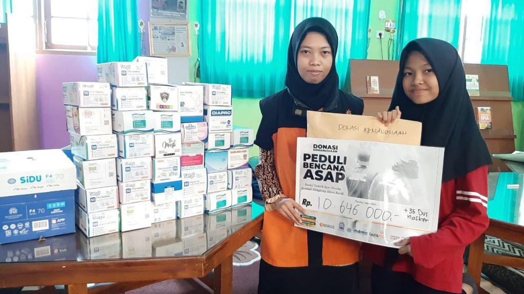 SMP Muhammadiyah PK Solo Peduli Korban Karhutla, Gelar Sholat Istisqa Hingga Galang Dana
