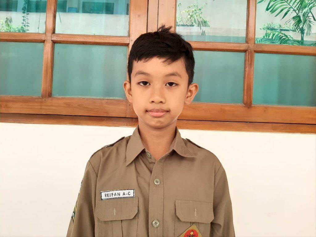 Reifan Al-Fattii Cahyadewa, Siswa SMP Muhammadiyah PK Juarai Wushu Provinsi