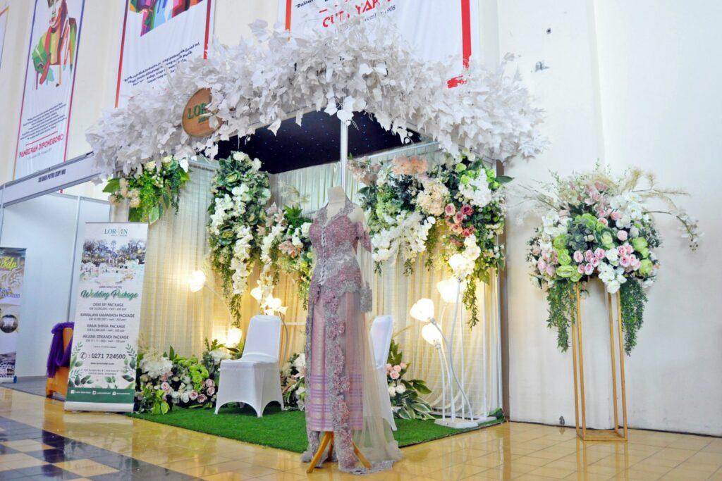 Lorin Ramaikan Pameran Festival Pengantin Nusantara 2019
