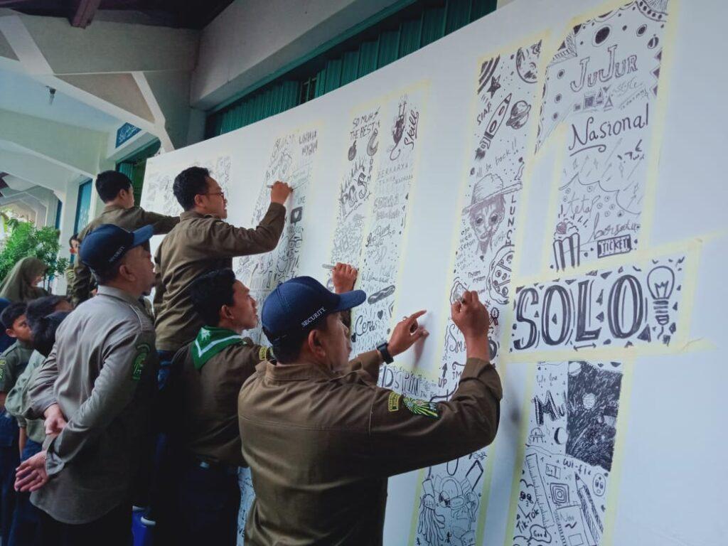 Persiapan Perayakan Milad Ke-84 SD Muhammadiyah 1 Ketelan, Berkeunggulan Menembus Batas